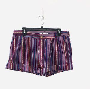 Shrinking violet Striped Shorts